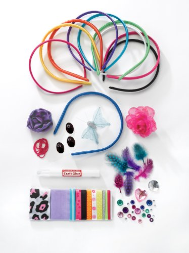 Large Product Image of Creativity for Kids Fashion Headbands Craft Kit, Makes 10 Unique Headbands