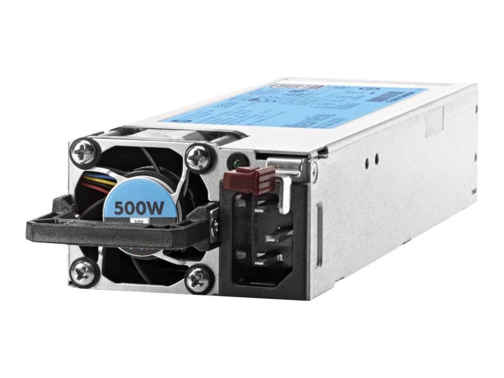 HPE Hot-Plug /, Redundant - Plug-in Module 500 Power Supply 720478-B21, Silver by HP