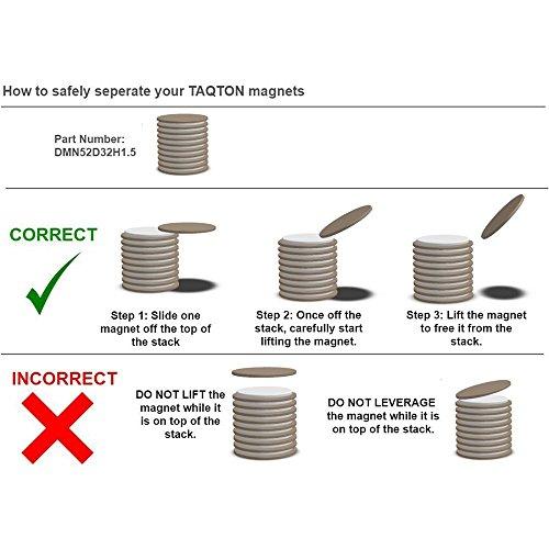 Runder bis 7 kg 36 x 7,2 Loch=5mm mm verchromt Magnet Scheibe Rundmagnet