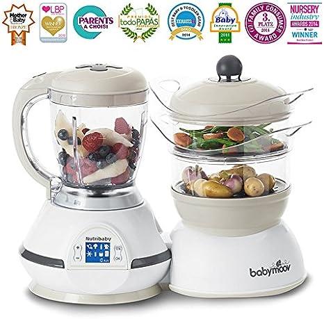 Babymoov NUTRIBABY™ Classic - Robot de Cocina Multifuncional 5-en-1 (UK IMPORT): Amazon.es: Bebé