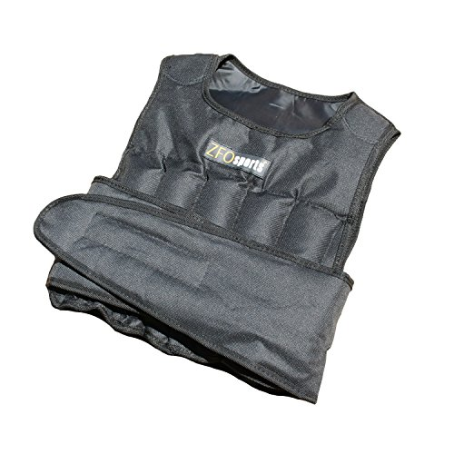 ZFOsports® 20LBS UNISEX Comfortable Exercise Adjustable Weighted Vest