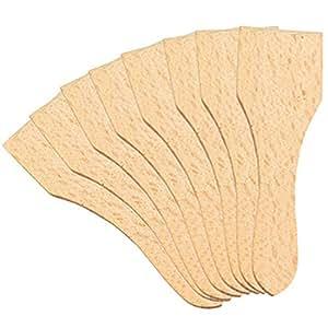 Kesper 69968 Raclette spatula 8 Piece of Beech Wood, Brown