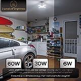 Basement Lights (2 Pack) - Dimmable Garage Lights