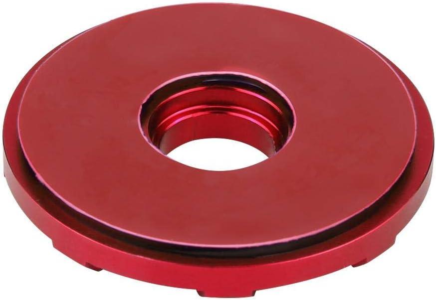 Red Senyar 2Pcs Hook Pins with Accessories,Universal CNC Aluminum Alloy Car Racing Hood Pin Lock Appearance Kit