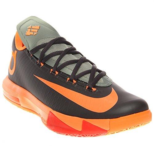 NIKE KD VI MENS BASKETBALL SHOES (12, Black/Orange)