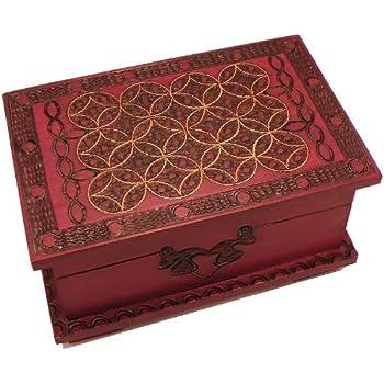 Amazon Com Celtic Chest Secret Wooden Puzzle Box Toys