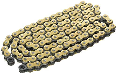 - DID Chain 520 VX2, 112 links (X-Ring Gold-Open with clip lock