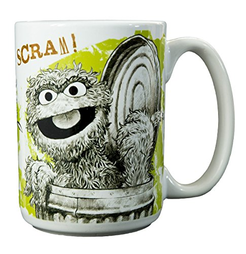 Sesame Street Character Collectible Mugs (Oscar - Scram!)
