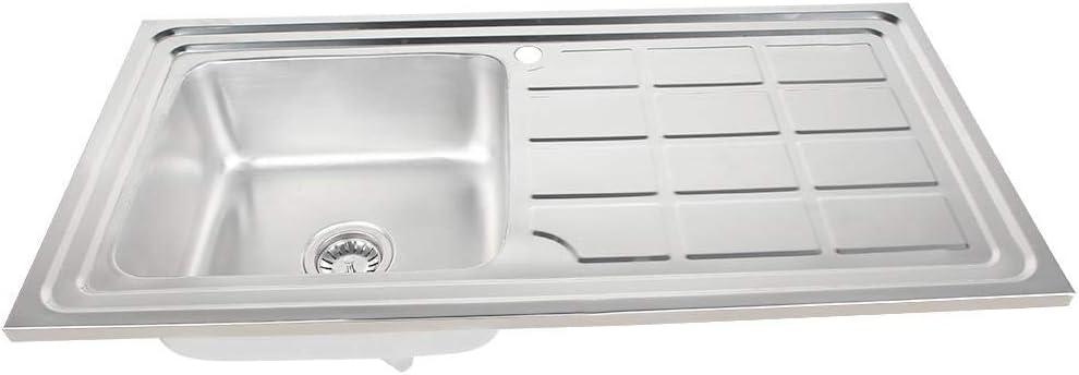 Franke 101.0251.297 /Évier de cuisine en acier inoxydable avec cuve simple Gris