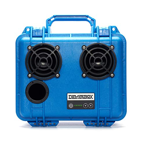 DemerBox: Waterproof, Portable, and Rugged Outdoor Bluetooth Speakers. Loud Sound + Deep Bass, 40+ hr Battery Life, Dry Box + USB Charging, Multi-Pairing Party Mode. Built to Last + Fully Serviceable