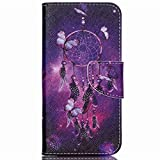 Acer Liquid Jade Z Case ,Gift_Source [Butterfly Dream] [Stand Feature] Magnetic Snap Case Premium Wallet Case Kickstand Flip Built-in Card Slots Folio Case for Acer Liquid Jade Z(5 inch)