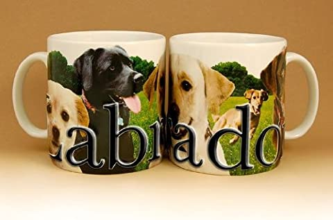 Americaware PMLAB02 18oz. Labrador Mug - Labrador Coffee