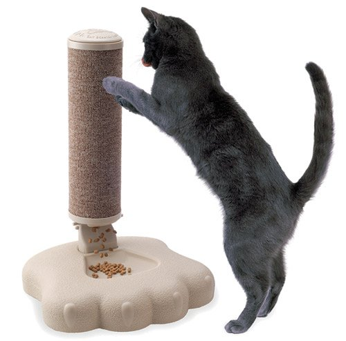 Pavlov's Cat Scratch Feeder, My Pet Supplies