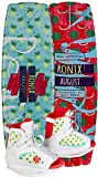 Ronix August 120 Wakeboard with Boots (2017) -SPARKLEY FRUIT-120 Board 2-6 Boot