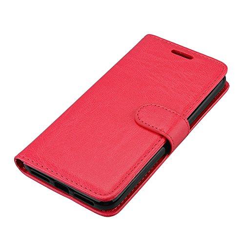 Funda Xiaomi Redmi 4X, Ecoway [3 ranuras para tarjetas] Serie retro Cuero de la Scrub PU Leather Cubierta, Función de Soporte Billetera con Tapa para Tarjetas Soporte para Teléfono para Xiaomi Redmi 4 A-3