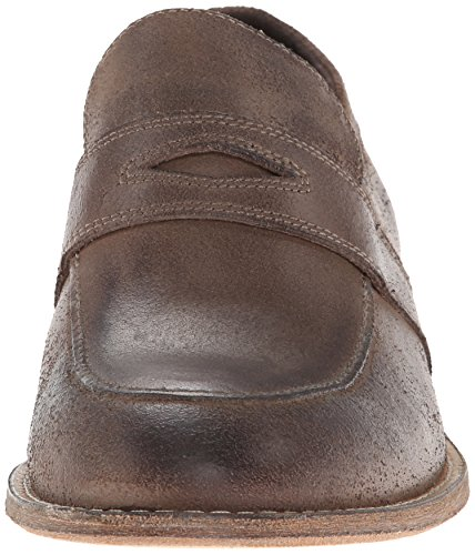 Andrew Marc Mens Slip-on Mocassin Champignon / Naturel