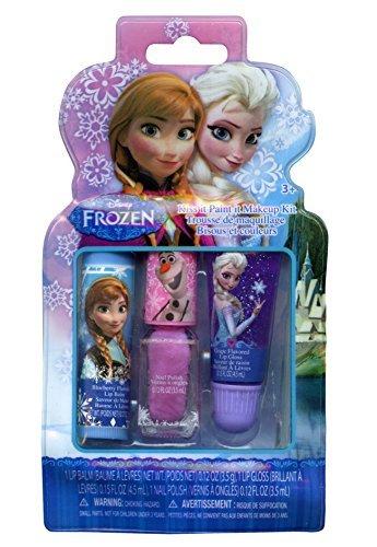 Disney Frozen Non-woven Nylon Sling Bag with Disney Frozen 20 Piece Hair Accessory Set, Disney Frozen Kiss It Paint It Makeup Kit and Disney Frozen Nail Kit by Disney (Image #2)