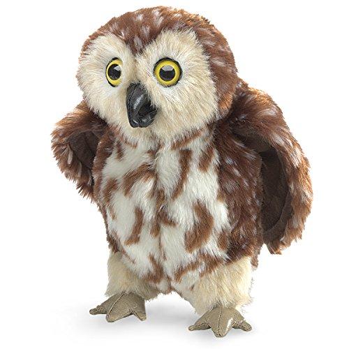 Folkmanis Saw-Whet Owl Hand Puppet]()