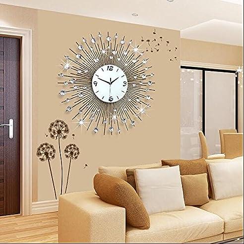 Amazon.de: Uhr Wanduhr Wohnzimmer Modern minimalistischen ...