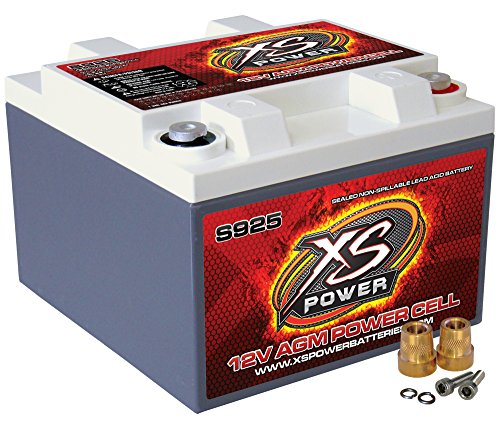 XS Power S925 'S Series' 12V 2,000 Amp AGM Automotive Starting Battery with Terminal by XS Power