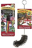 Droll Yankees Brush Bundle - PLB Perfect Little Brushes and Hummerplus Brush For Hummingbird Feeders