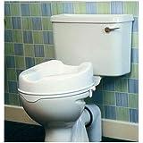 Elevador de inodoro sin tapa alto: 10 cm