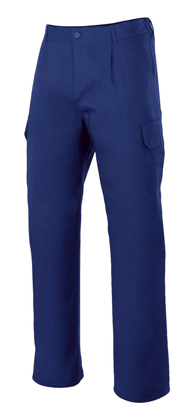 Velilla 103006//C1//T46 Pantal/ón Multibolsillos Azul marino 46