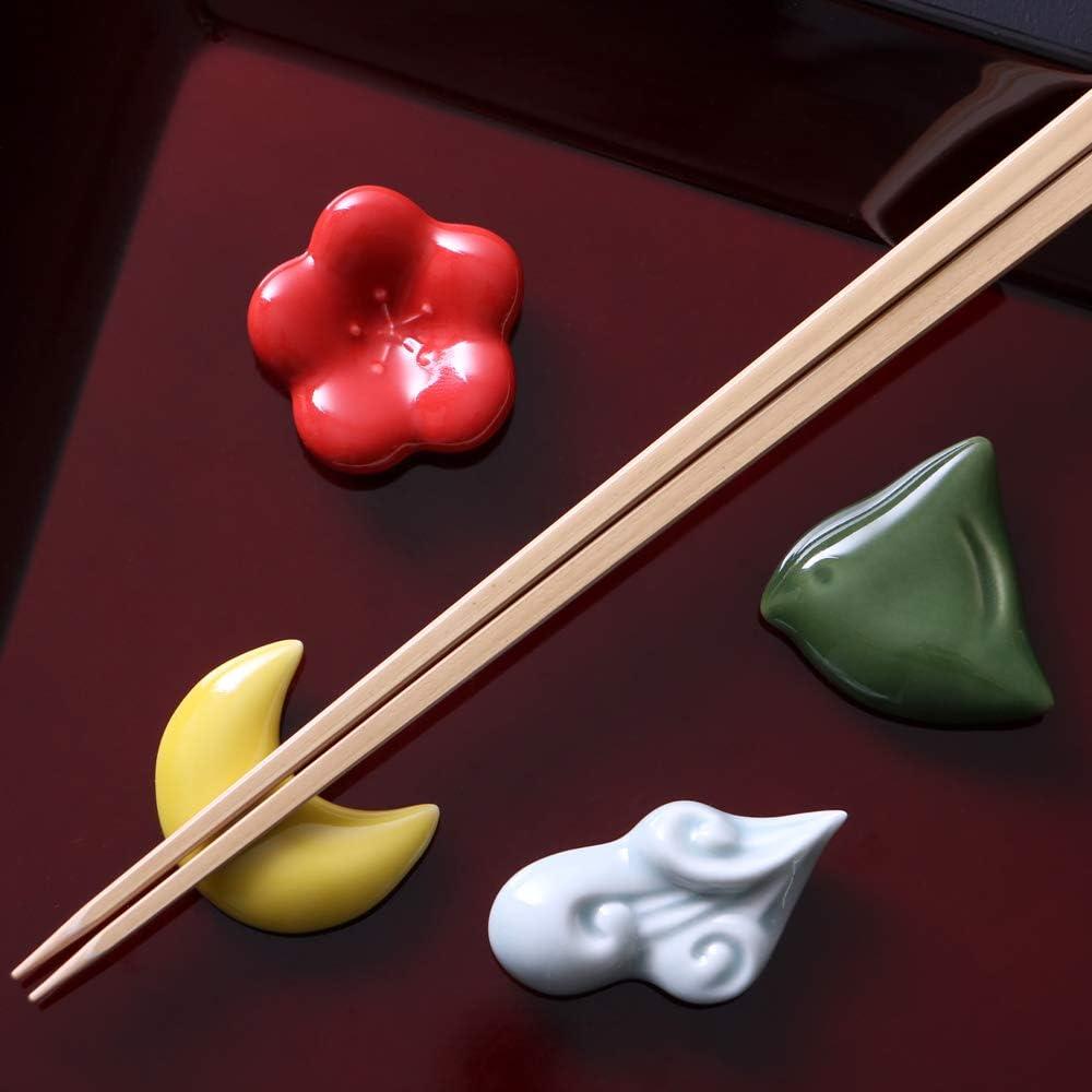 有田焼「花鳥風月・磁器のお箸置き(化粧箱入り)」
