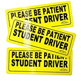 CARBATO-Student-Driver-Magnet-Safety-Sign-Vehicle-Bumper-Magnet--Car-Vehicle-Reflective-Sign-Sticker-Bumper-fo