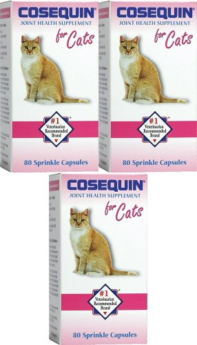 Nutramax Cosequin Feline for Cats 240ct (3 x 80ct)