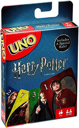 Mattel Games Uno Harry Potter Card Game (Basket Depot Home Easter)