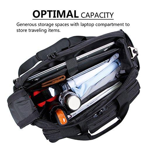 Lifewit 17 inch Men's Military Laptop Messenger Bag Multifunction Tactical Briefcase Computer Shoulder Handbags Pilot…