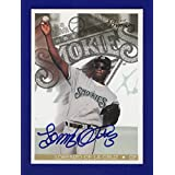 Lorenzo De La Cruz Autograph #183/250 Signed 1997 Best Premium Baseball Card Knoxville Smokies Toronto Affiliate