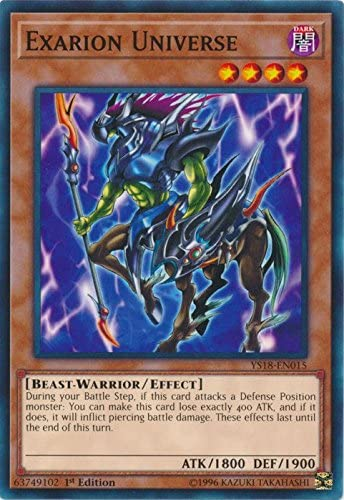 1st Edition Yu-Gi-Oh: EXARION UNIVERSE YS18-EN015 Common Card