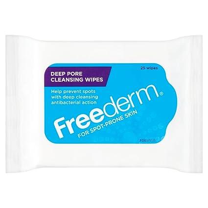 freederm toallitas de limpieza profunda de los poros