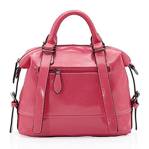 barbie BBFB218 bolso elegante para mujeres bolso bandolero de simple estilo moderno rosa intensa