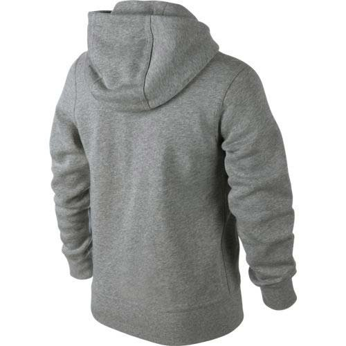 Sweat Nike 76 grisfoncéheather Gris Young Brushed shirt Zippé Athletes blanc À Enfant Mixte Capuche qqI1f