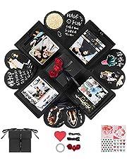 YITHINC Creative Explosion Box,DIY Handgjorda Fotoalbum Scrapbooking Presentförpackning som Födelsedagspresent och överraskningslåda om Kärlek öppnad