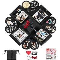 YITHINC Caja de Regalo DIY Álbum de Fotos Hecho a Mano,Creative Explosion Box como Regalo de Cumpleaños y Caja de…