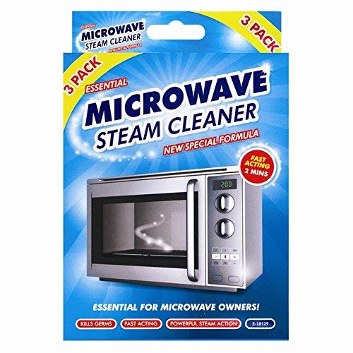 Passe au micro-ondes pour nettoyeur vapeur Lot de 3/ /Fonctionne en 2/minutes