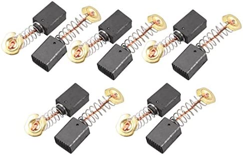 12 x 9 x 6 mm Uxcell Electric Motor Spring Coil Carbon Brushes 10 Piece