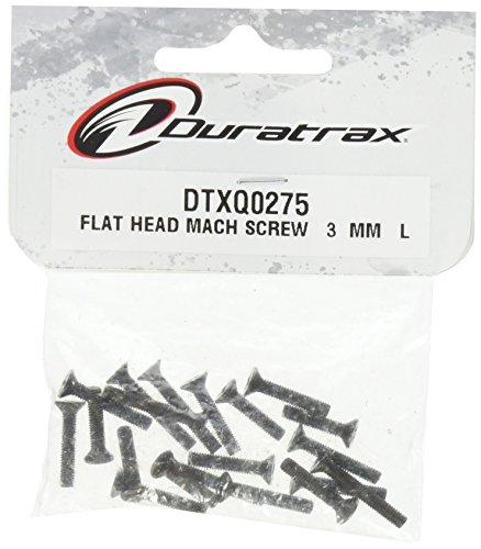 DuraTrax Flat Head Machine Screw 3mm L (20)
