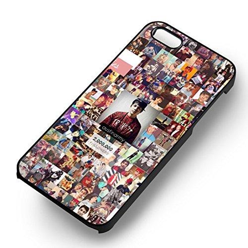 Austin 2M Mahomies pour Coque Iphone 6 et Coque Iphone 6s Case (Noir Boîtier en plastique dur) L8P2MG