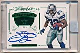 EMMITT SMITH 2015 PANINI FLAWLESS EMERALD ON CARD AUTOGRAPH COWBOYS AUTO SP #5/5
