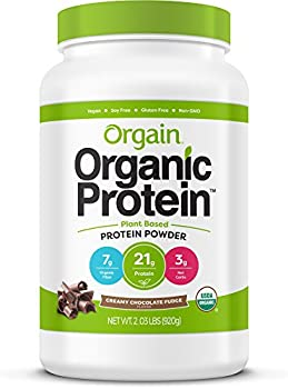 Orgain Organic Protein Powder (2.03lb Creamy Chocolate Fudge)