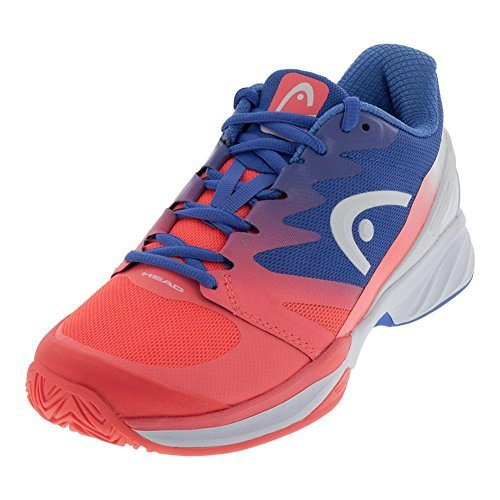 HEAD-Women`s Sprint Pro 2.0 Tennis Shoes Marine and Coral-(726424583706)
