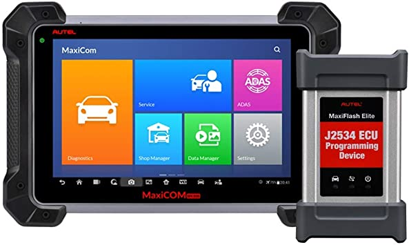 Autel Maxisys Pro MS908P Car Scanner Tool With ECU Coding and J2534 Reprogramming Bluetooth//WIFI and 1 Year Update