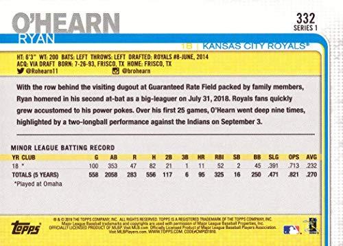 Amazon.com: 2019 Topps Baseball #332 Ryan OHearn Rookie Card: Collectibles & Fine Art