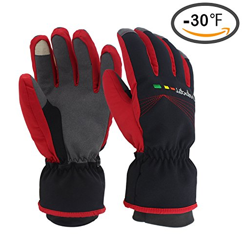 Men's Women's Skiing Gloves - Waterproof Windproof Winter Gloves, Thermal Warm Gloves, Touchscreen Snow Snowboarding Snowmobile Gloves (Deliveries For Men)