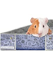 Paw Inspired Critter Box   Washable Guinea Pig Cage Liners with Raised Sides   Super Absorbent Fleece Bedding for Guinea Pigs Rabbits, Hamsters, & All Small Animals   Edge Protected Pee Pads